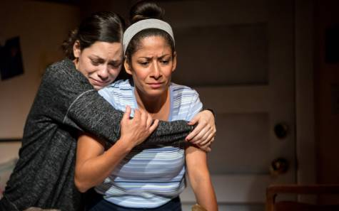 Ayssette Muñoz and Nora Montañez in I Come From Arizona photo by Dan Norman
